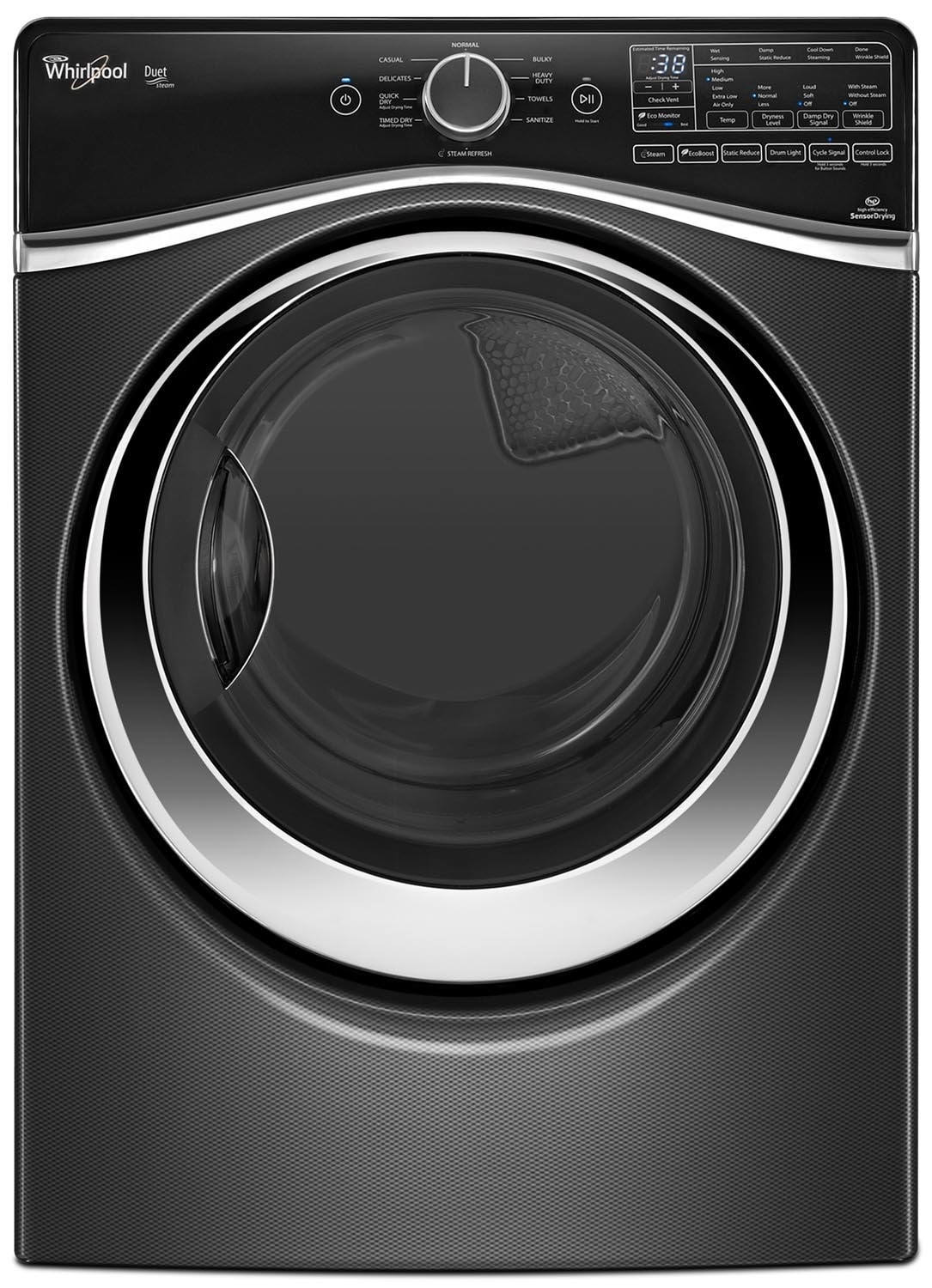 Washers and Dryers - Whirlpool Gas Dryer (7.3 Cu. Ft.) WGD97HEDBD