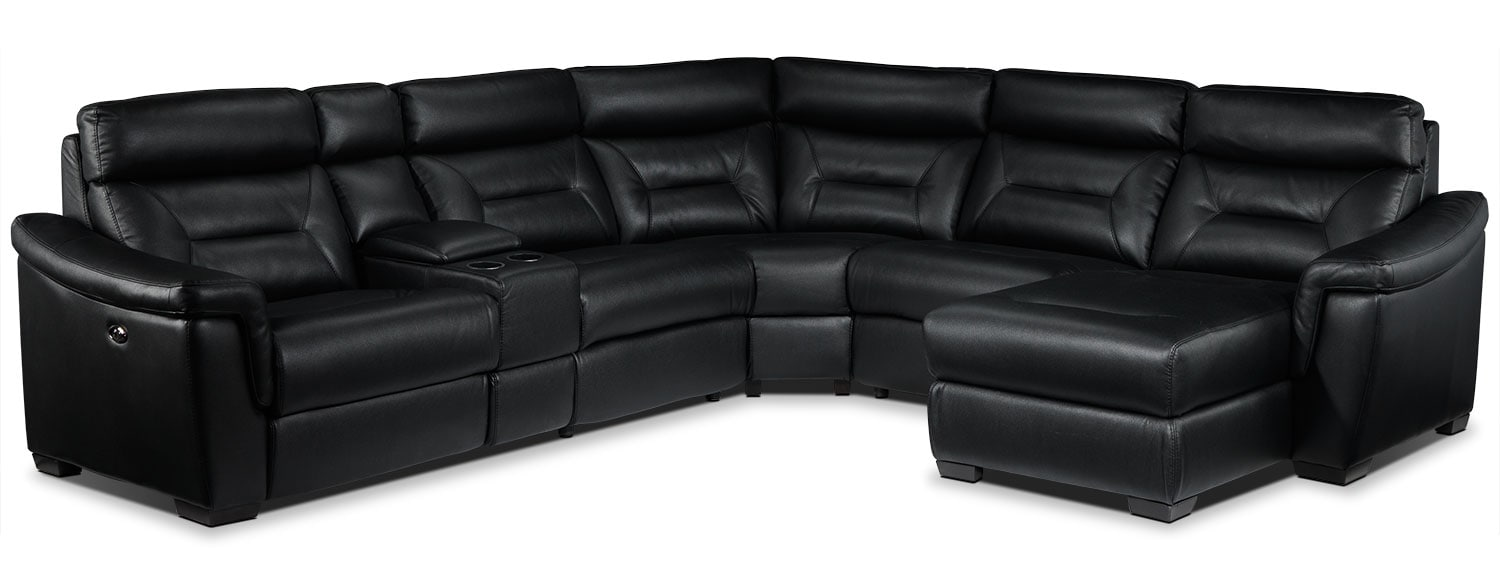 Wexler 6. Pc. Sectional - Black