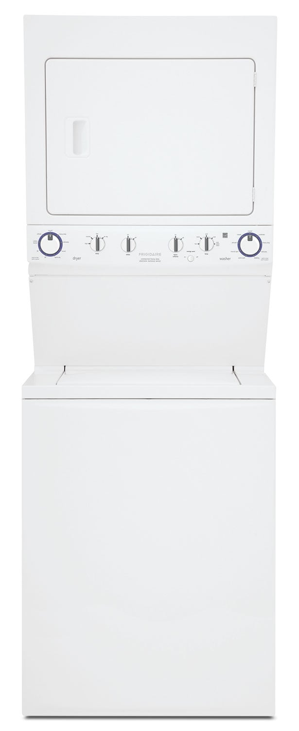 Washers and Dryers - Frigidaire Electric Washer/Dryer Laundry Centre - White
