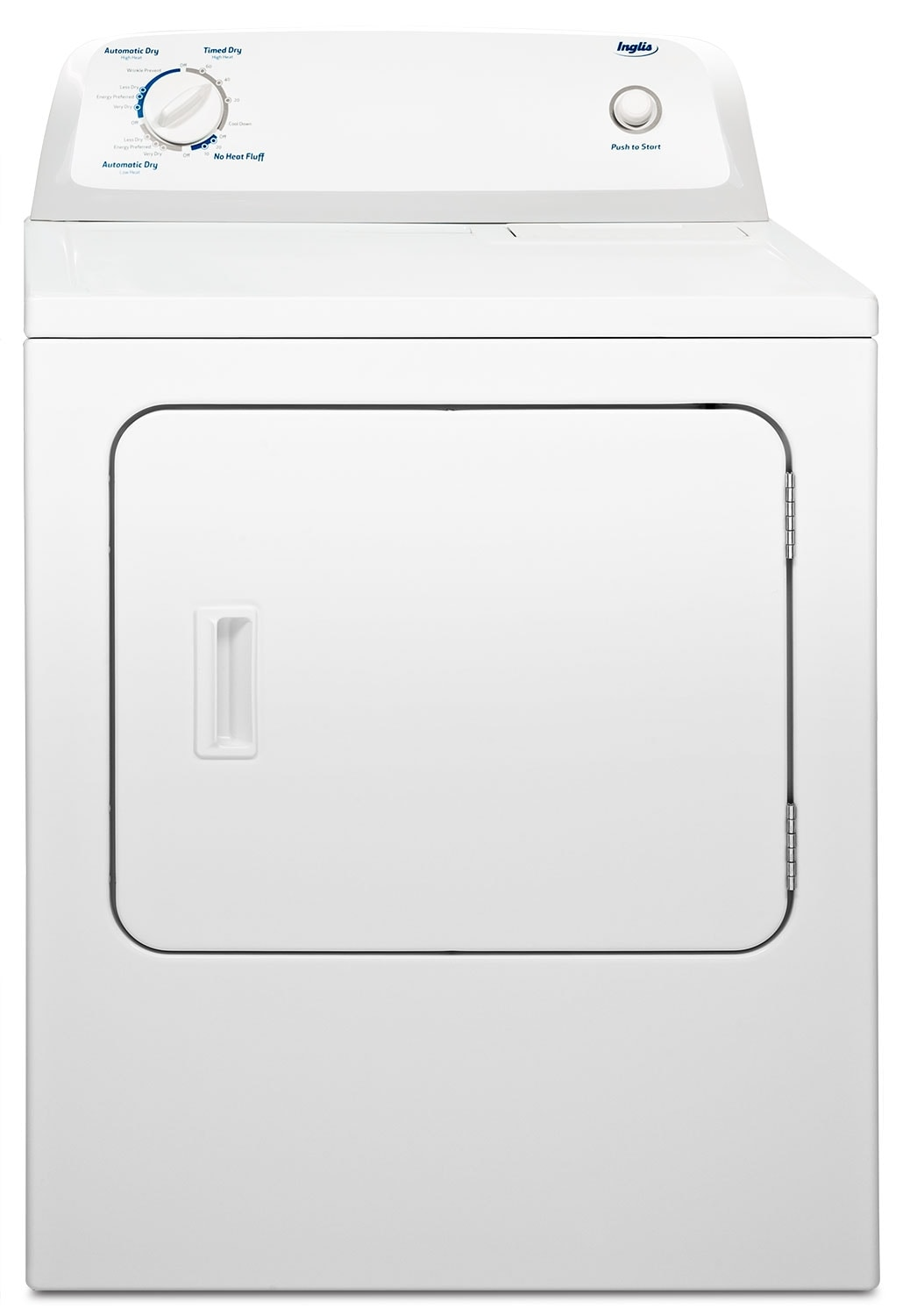 Washers and Dryers - Inglis 6.5 Cu. Ft. Electric Dryer - White