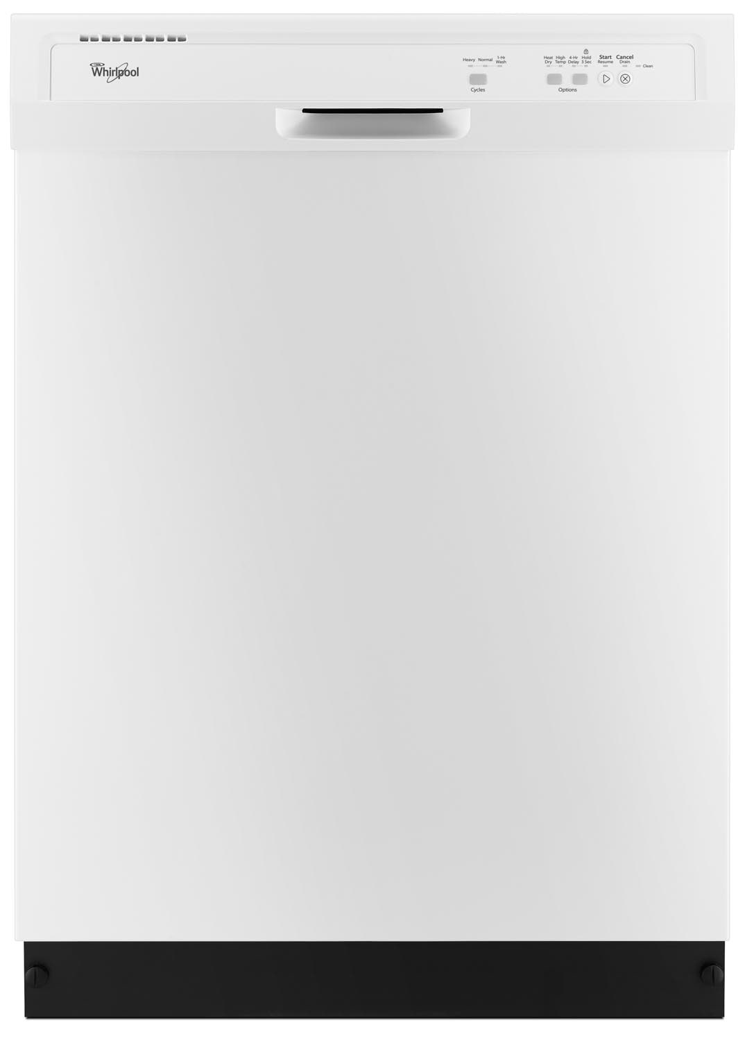 Clean-Up - Whirlpool White Dishwasher - WDF320PADW