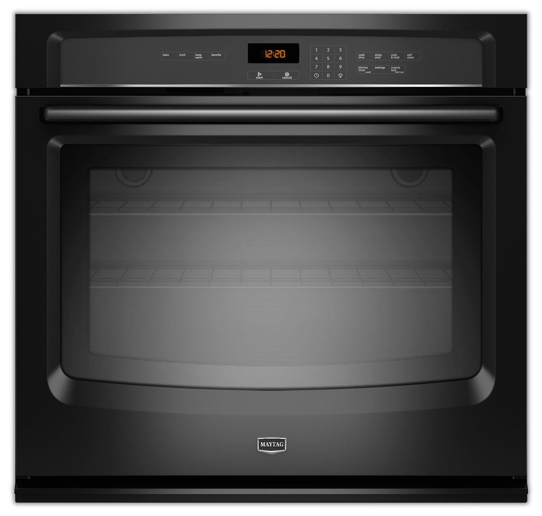 Maytag Black Wall Oven (5.0 Cu. Ft.) - MEW7530DB