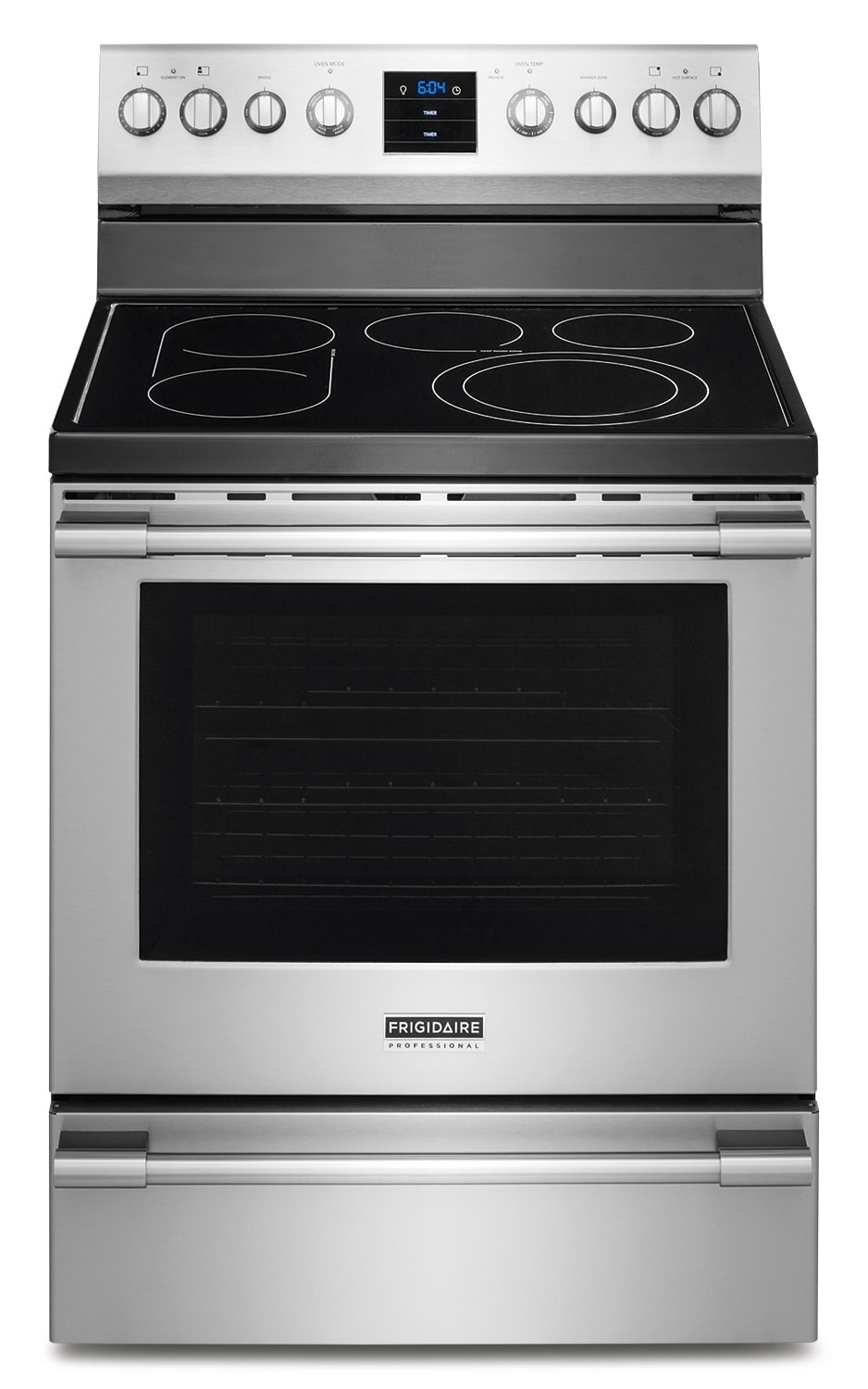 Cooking Products - Frigidaire Professional Stainless Steel Electric Convection Range (6.1 Cu. Ft.) - CPEF3077QF