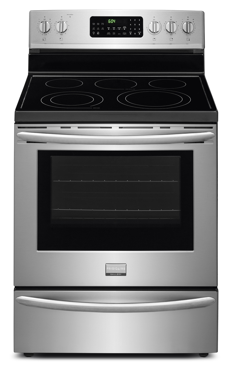 Cooking Products - Frigidaire Gallery Stainless Steel Electric True Convection Range (5.7 Cu. Ft.) - CGEF3039RF