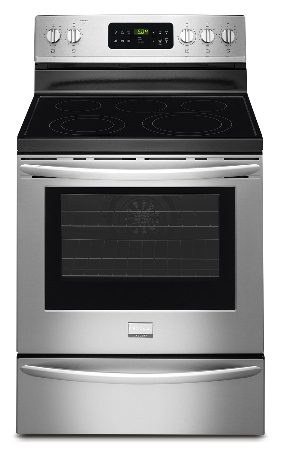 Cooking Products - Frigidaire Gallery Stainless Steel Freestanding Electric Convection Range (5.7 Cu. Ft.) - CGEF3035RF