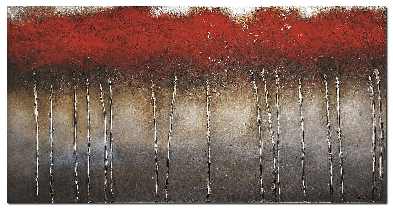 "Crimson Forest - 60"" x 30"""