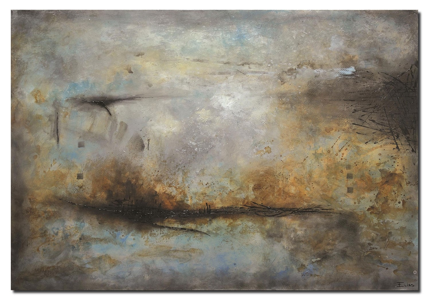 "Accent and Occasional Furniture - Into the Depths - 72"" x 50"""