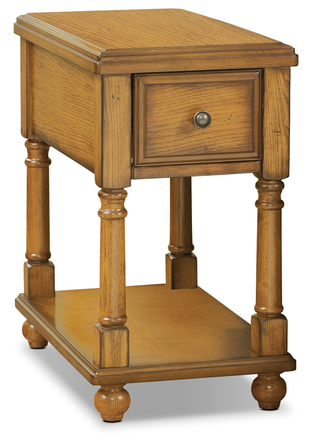 Accent and Occasional Furniture - Sydney Accent Table - Burnished Oak