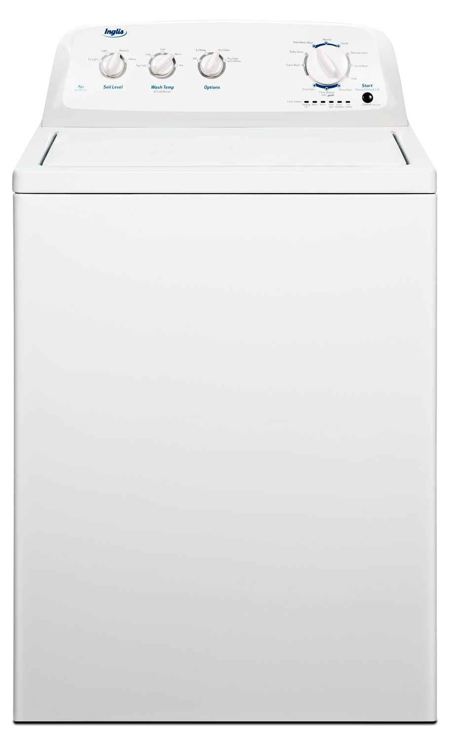 Washers and Dryers - Inglis 4.2 Cu. Ft. High-Efficiency Top-Load Washer - White