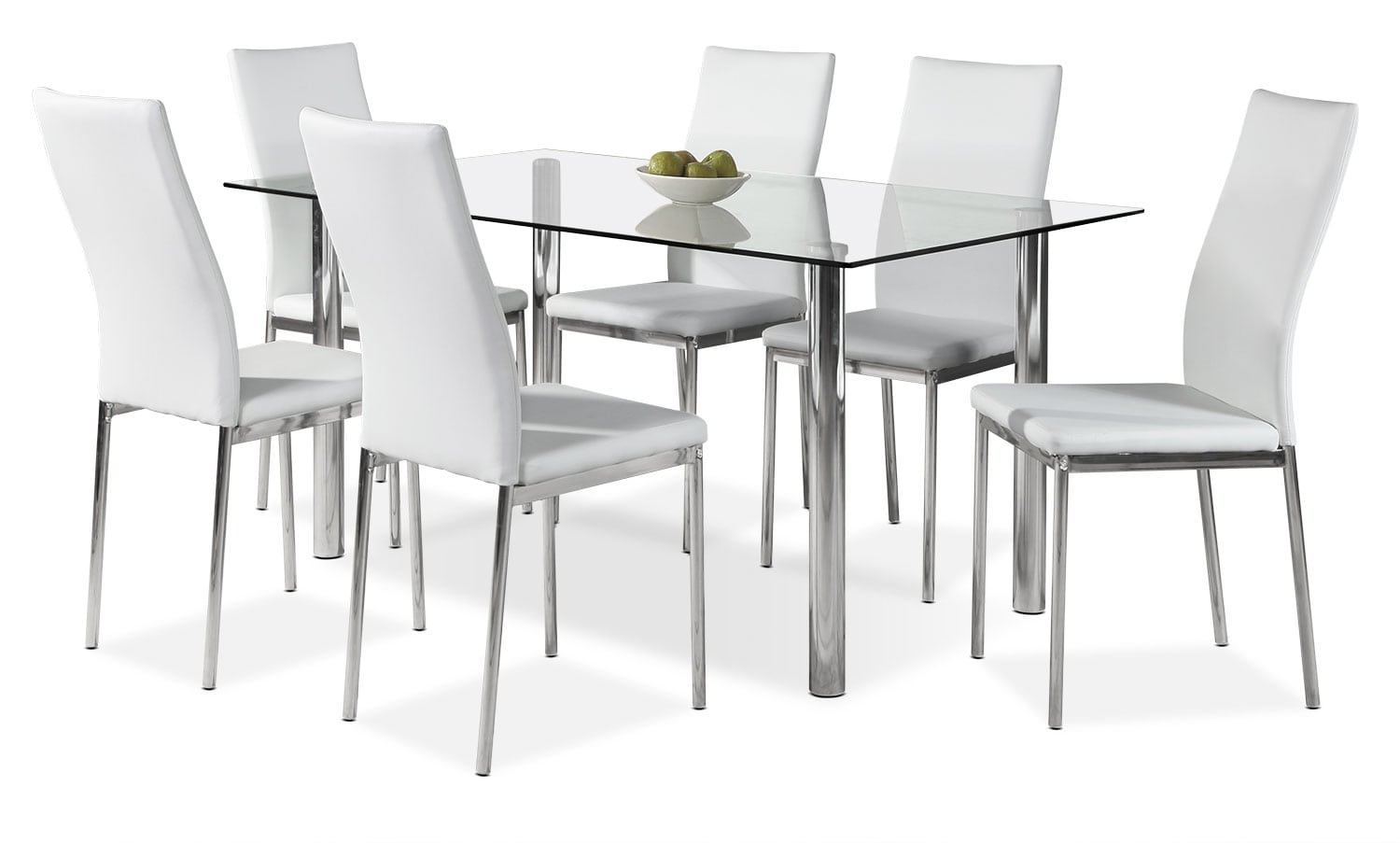 Dining Room Furniture - Koda 7-Piece Dining Package – White