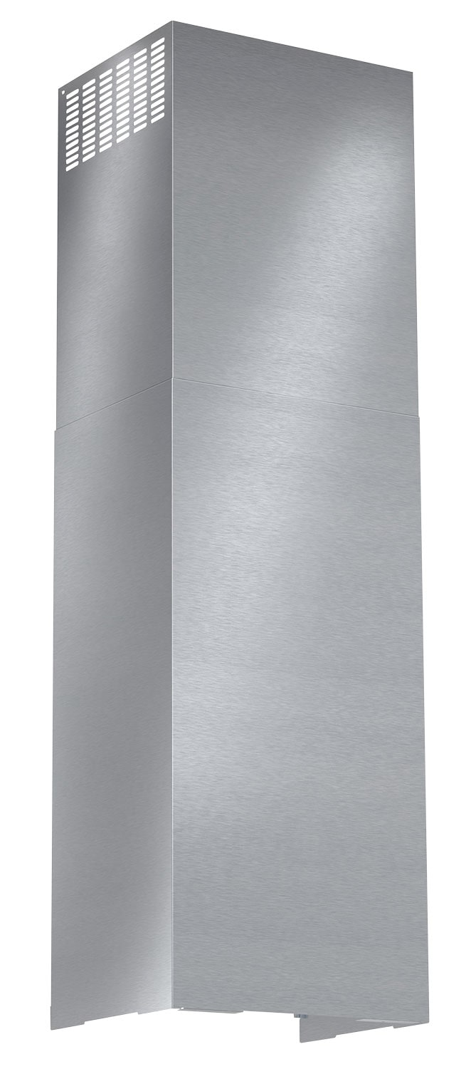 Appliance Accessories - Bosch Wall-Mounted Pyramid Chimney Hood Duct Extension Kit - Stainless Steel