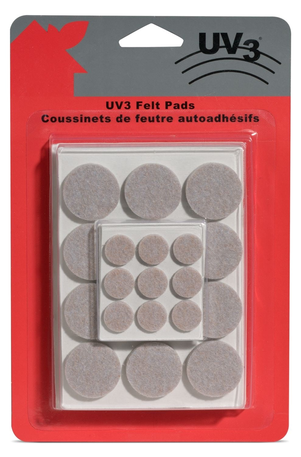 Living Room Furniture - UV3 Furniture Felt Pads