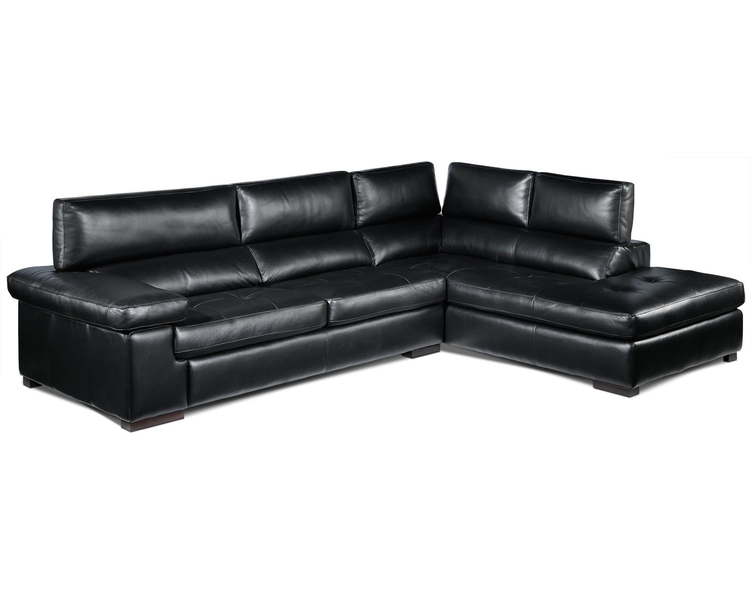 The Underwood Sectional Collection - Black