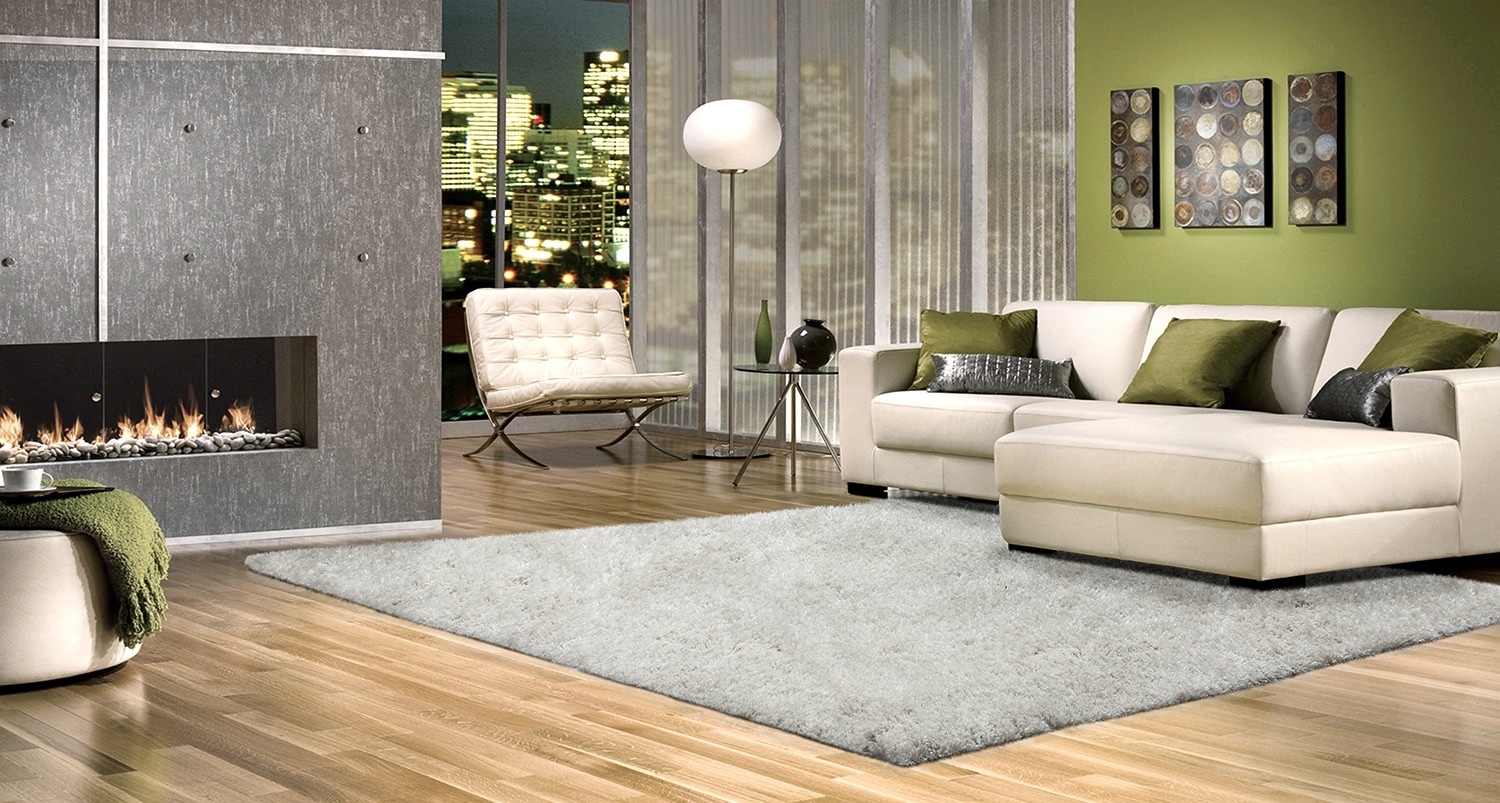 Dakota White Area Rug – 5' x 8'