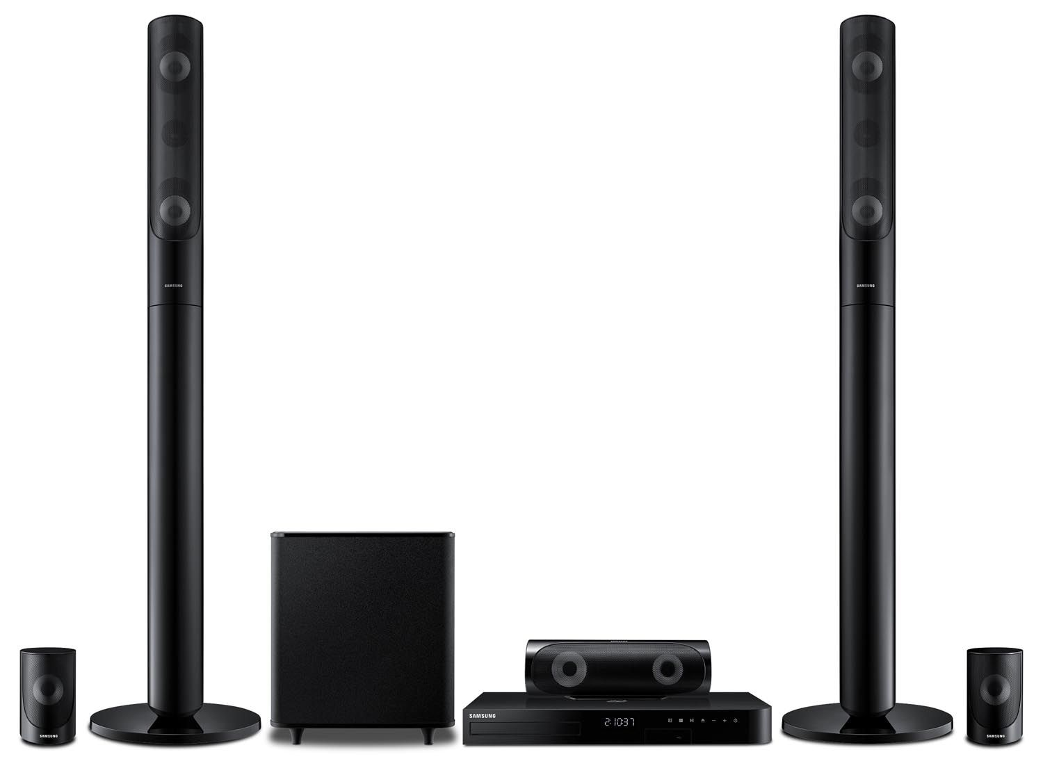 Sound Systems - Samsung 1000W 5.1 Channel Home Theatre System HT-J5530/ZC
