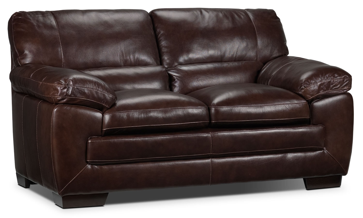 Living Room Furniture - Amarillo Loveseat - Brown