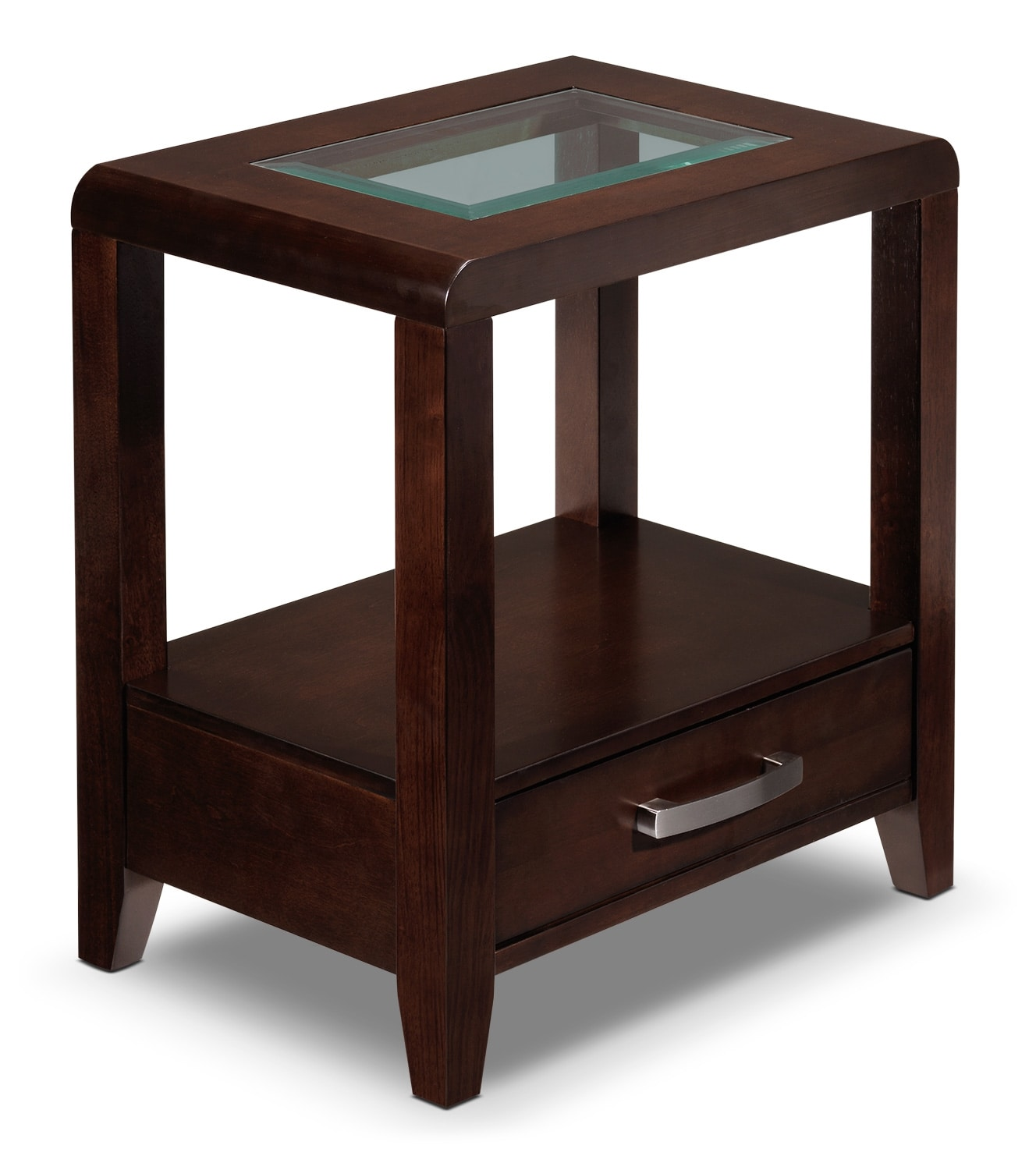 Felicia End Table - Espresso