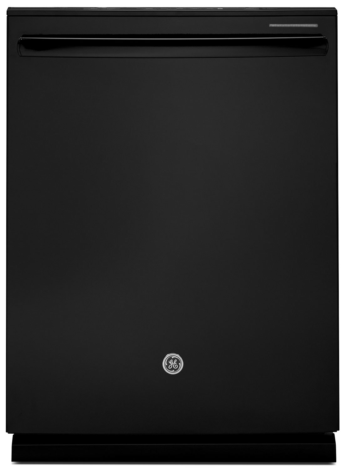 "Clean-Up - GE 24"" Built-In Dishwasher - Black"