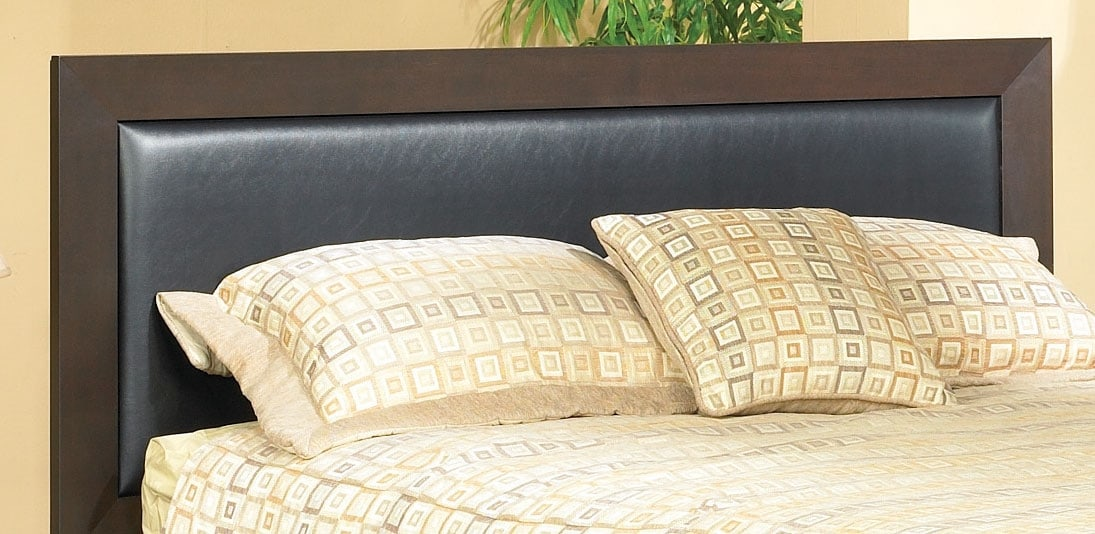 Bedroom Furniture - Oxford Queen Upholstered Panel Headboard