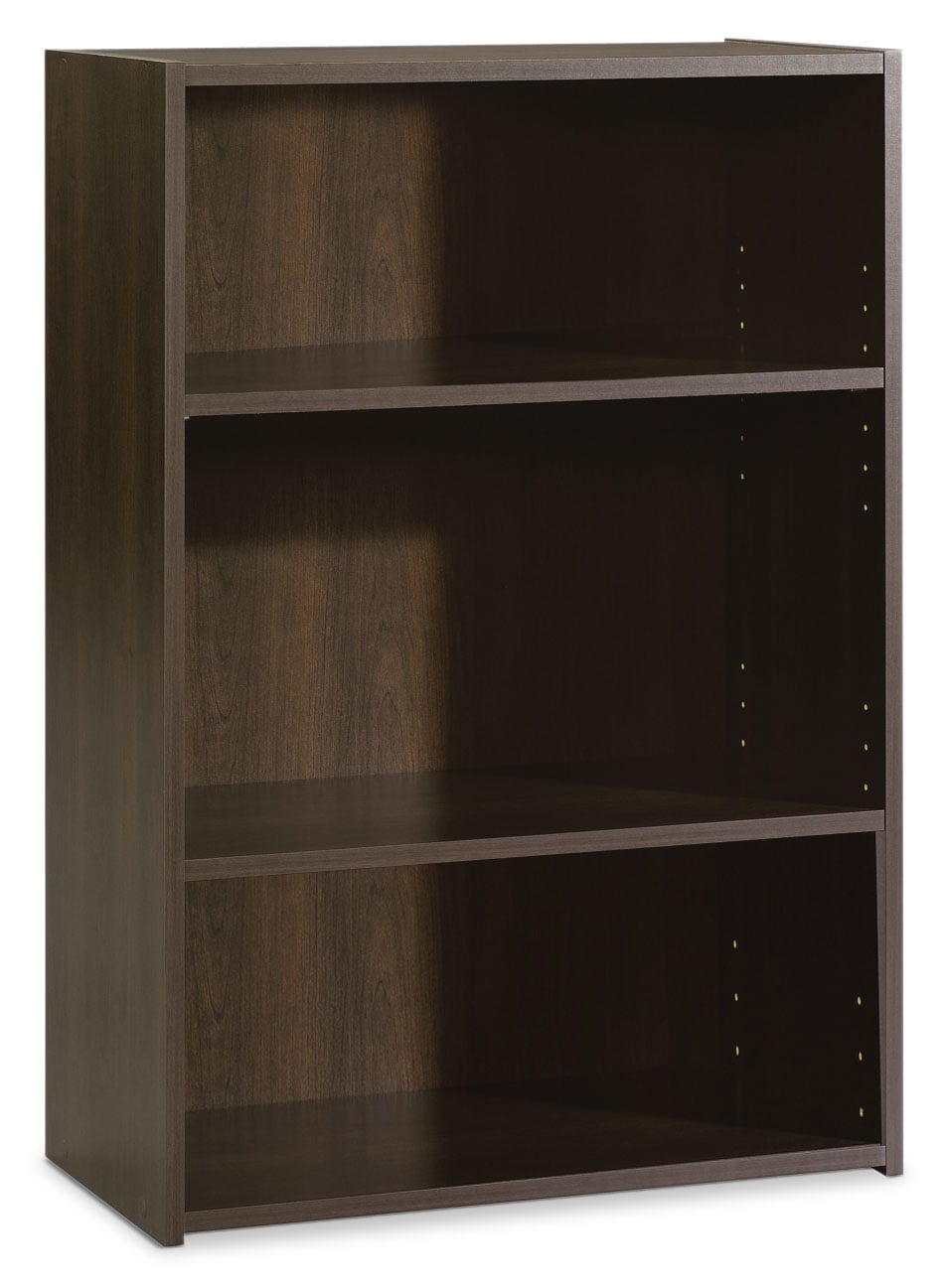 Accent and Occasional Furniture - Boston 3-Shelf Bookcase