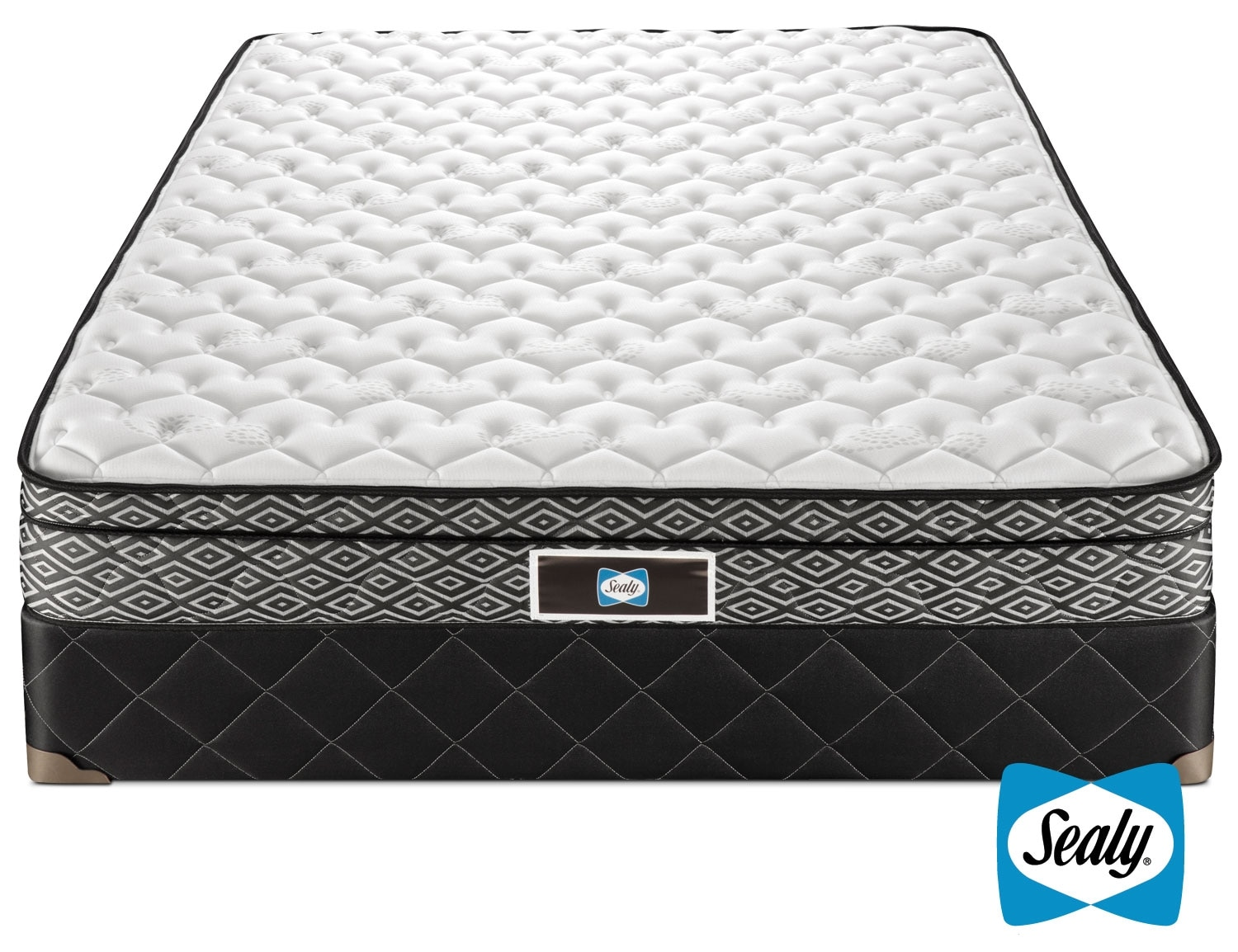 [Sealy Tale Queen Mattress/Boxspring Set]