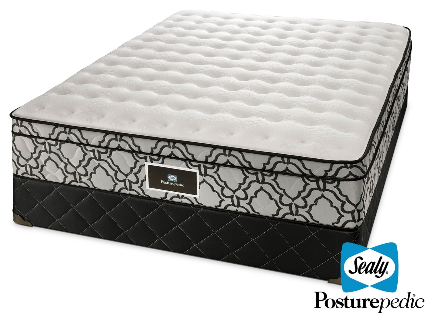 Mattresses and Bedding - Sealy Colosseum Full Mattress/Boxspring Set