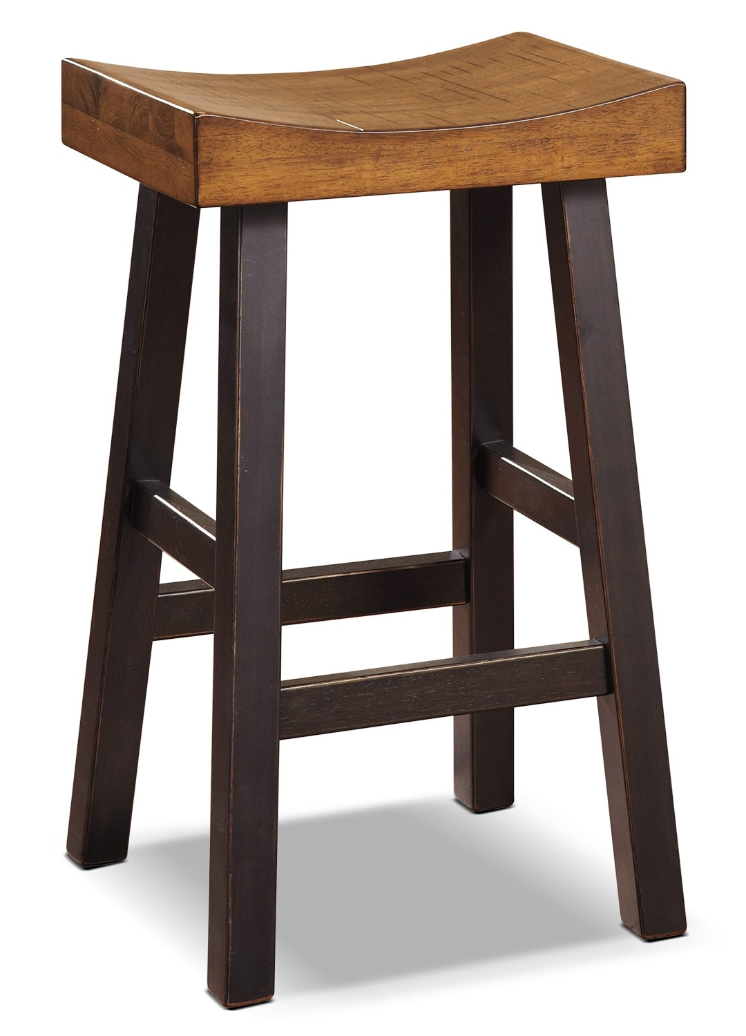 "Dining Room Furniture - Glosco 30"" Saddle-Seat Bar Stool"