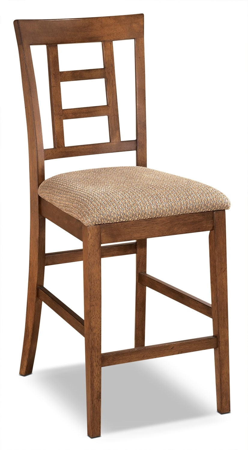 "Cross Island 24"" Bar Stool"