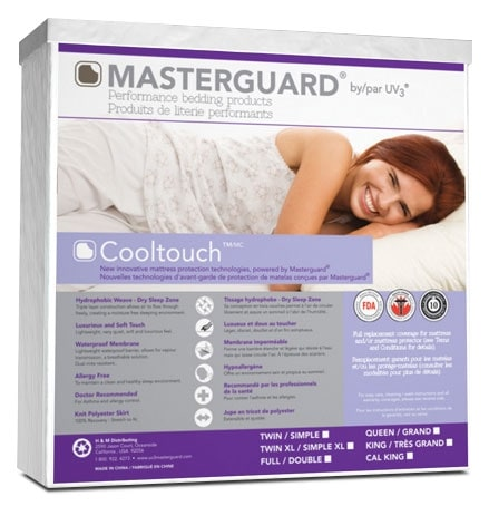 Mattresses and Bedding - Masterguard® CoolTouch™ Full Mattress Pad