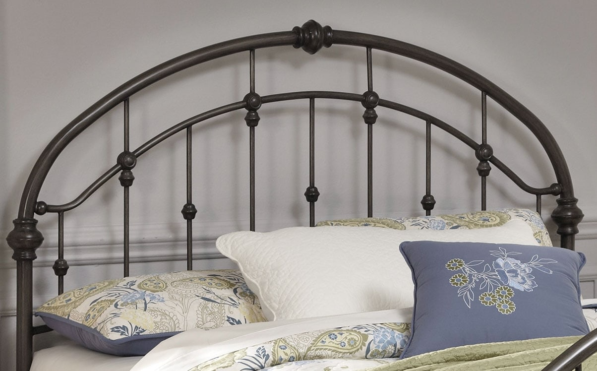 Bedroom Furniture - Nashburg Queen Metal Headboard – Bronze