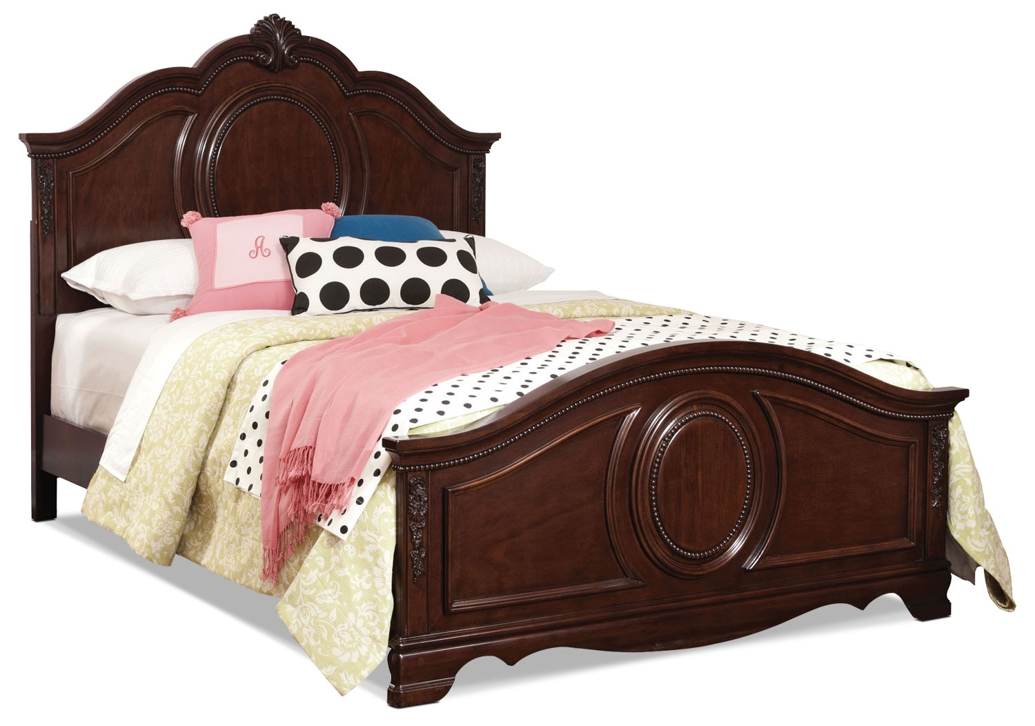 Jessica Cherry Twin Bed
