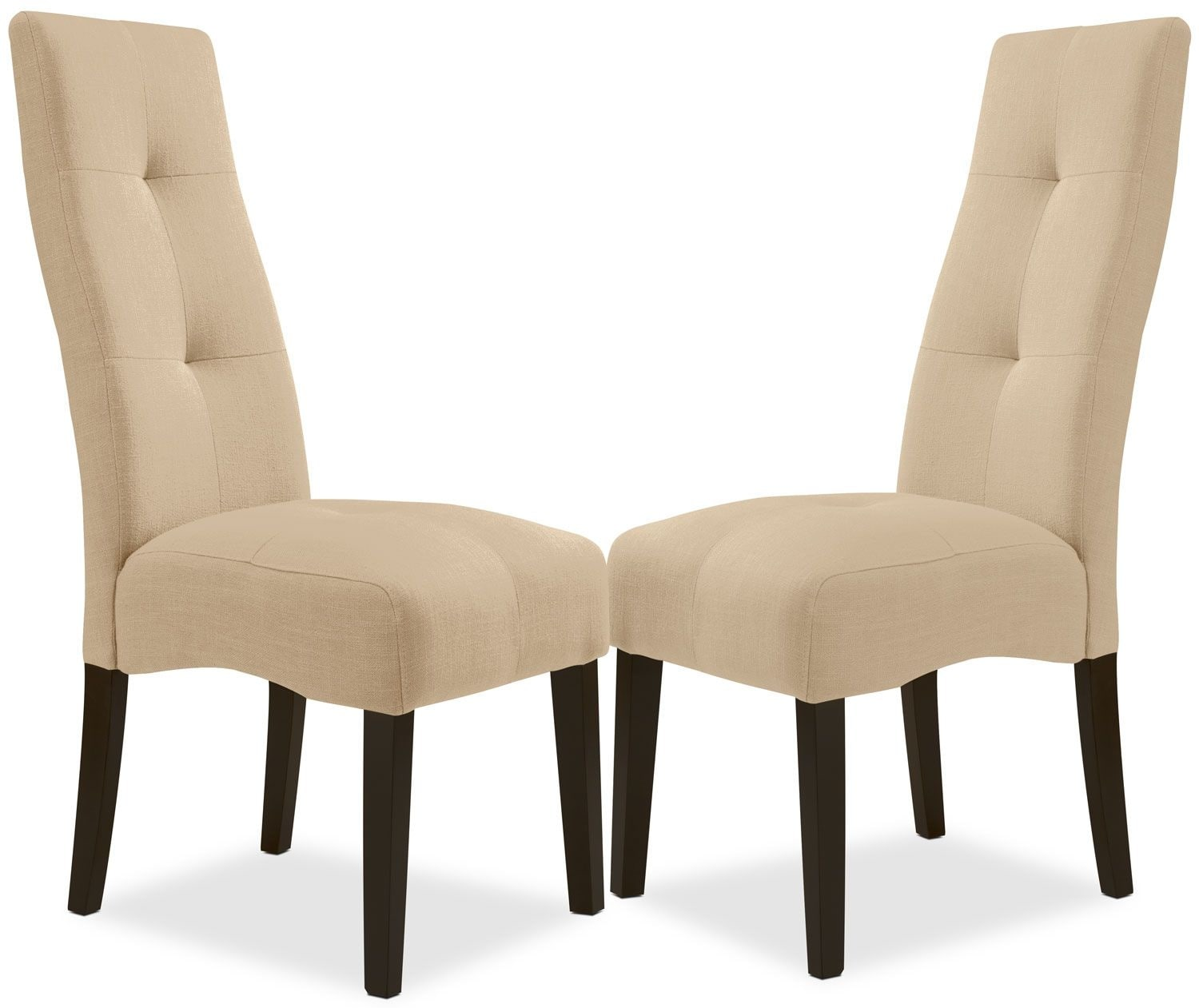 Sadie Beige Dining Chair – Set of 2