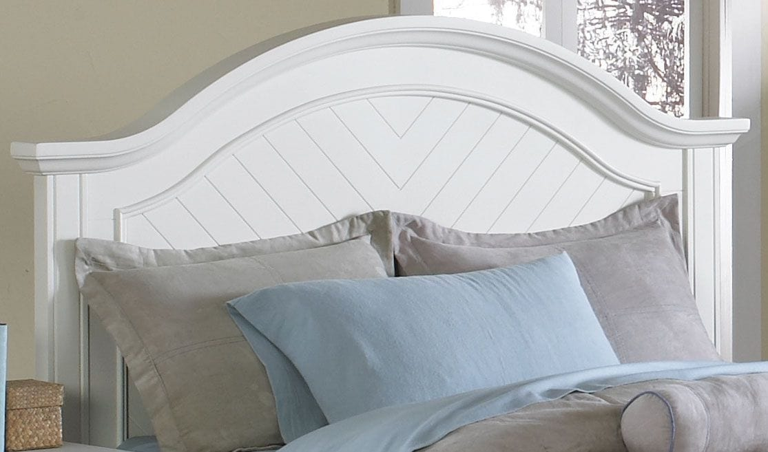 Bedroom Furniture - Brook King Panel Headboard – Off-White