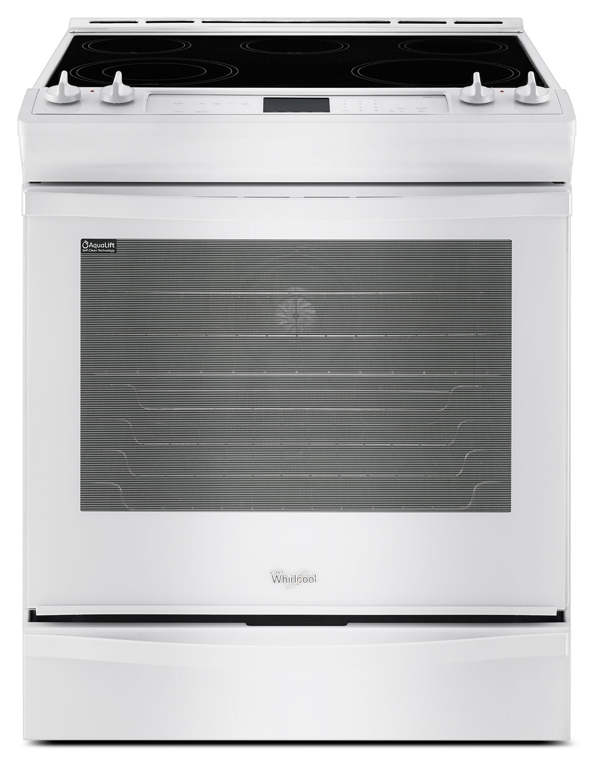 Cooking Products - Whirlpool White Freestanding Electric Convection Range (6.2 Cu. Ft.) - YWEE730H0DW