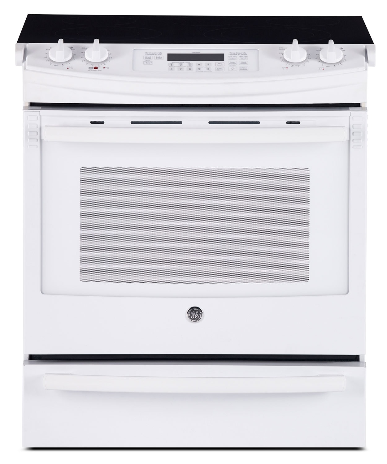 lg double oven electric range manual