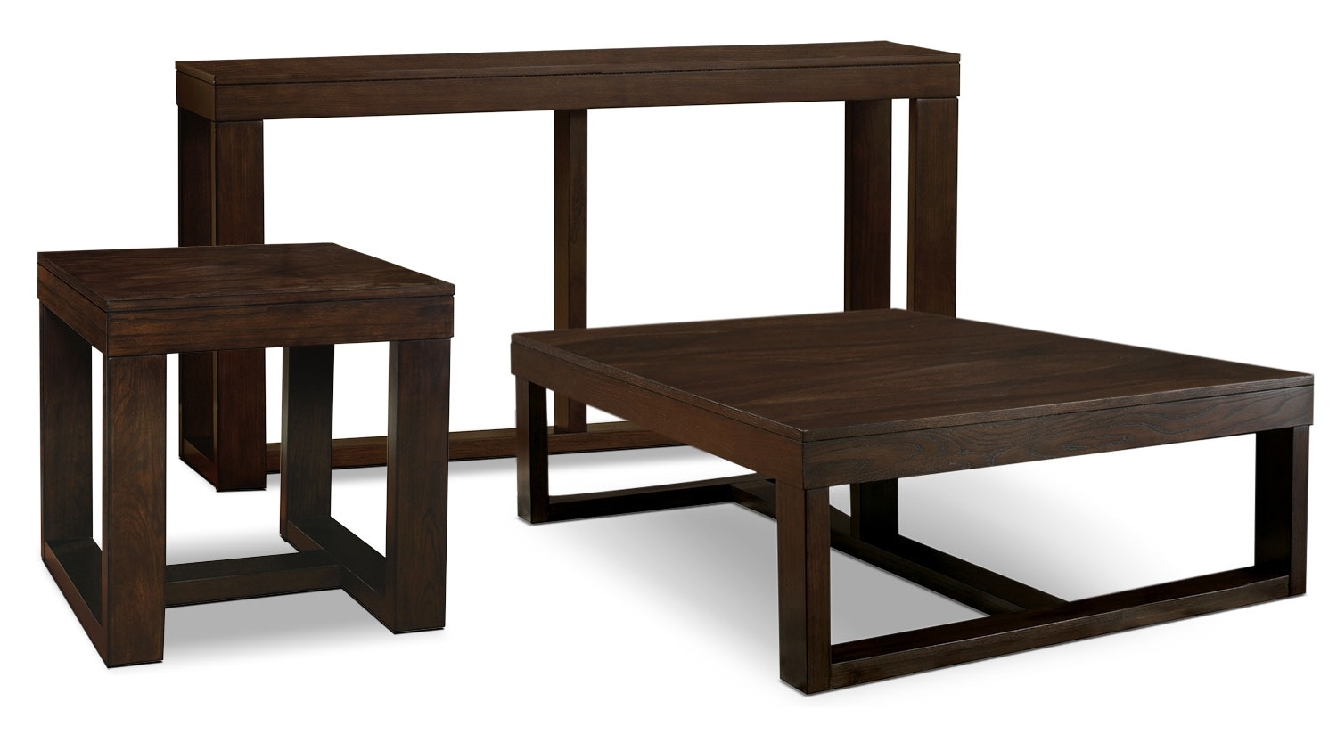 Accent and Occasional Furniture - Watson 3-Piece Coffee, End, and Sofa Table Package