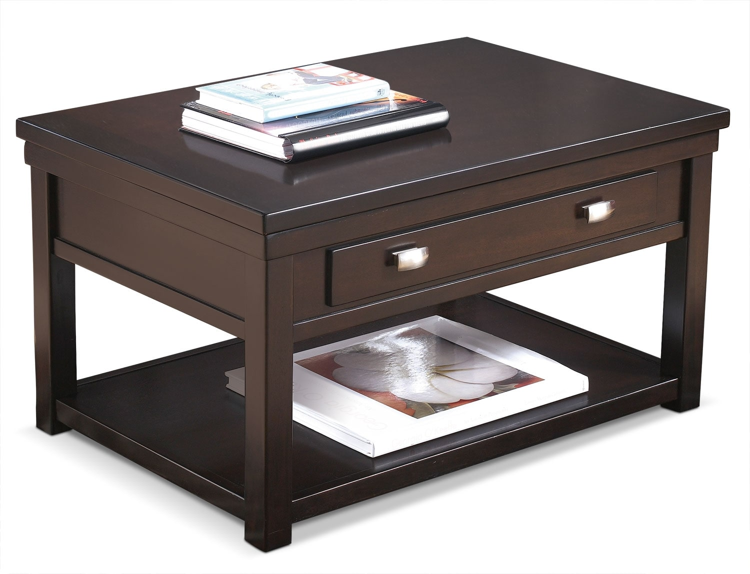 Hatsuko Coffee Table With Lift Top The Brick