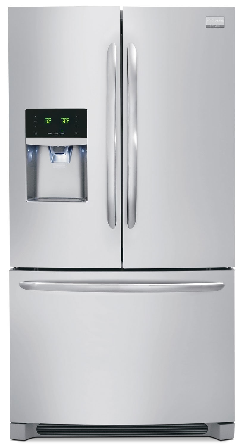 Refrigerators and Freezers - Frigidaire Gallery 28 Cu. Ft. French Door Refrigerator - Stainless Steel