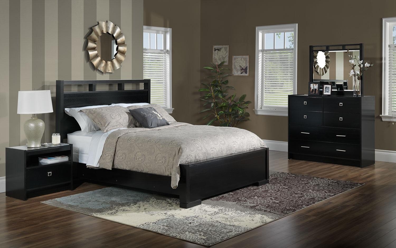 Altissa 5 Piece Queen Bedroom Set Espresso Leon 39 S