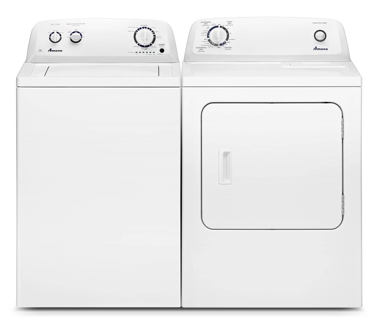 Amana Laundry - NTW4605EW/YNED4655EW