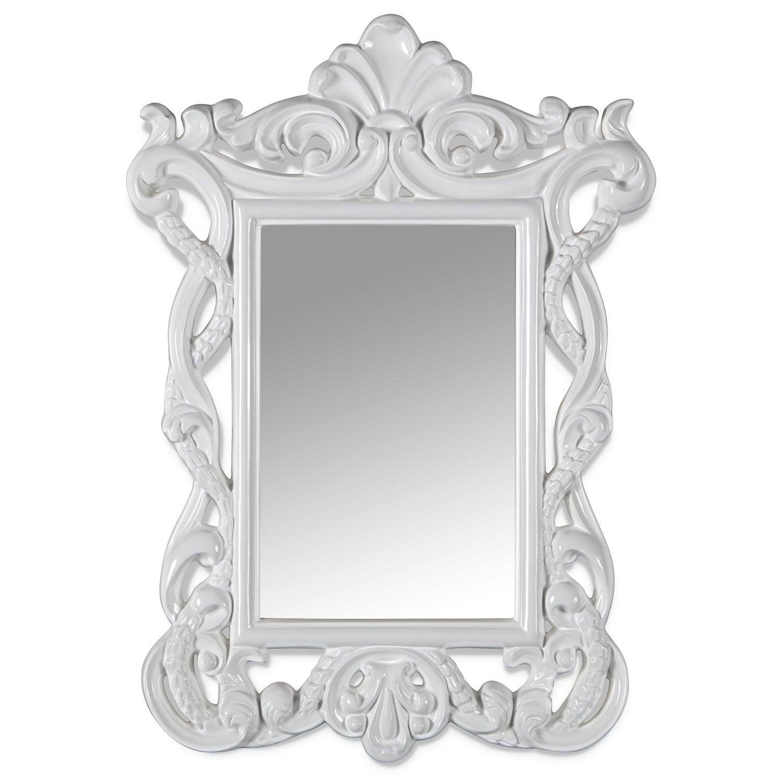[Veronica Mirror (White)]
