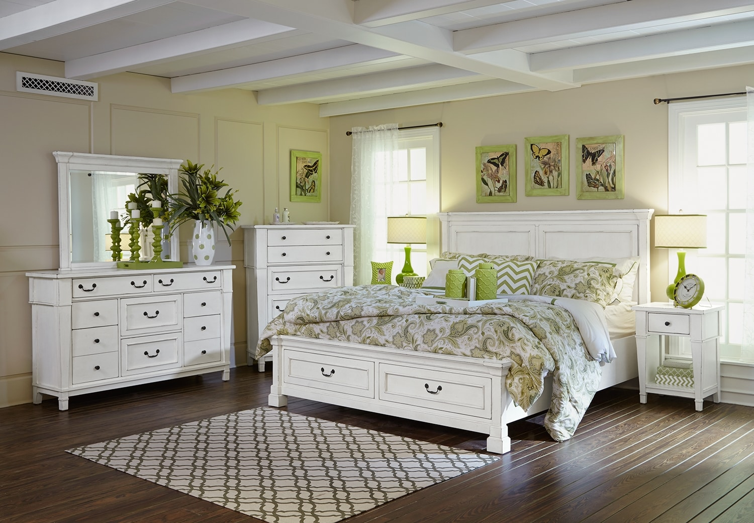 The Stoney Creek Storage Bedroom Collection