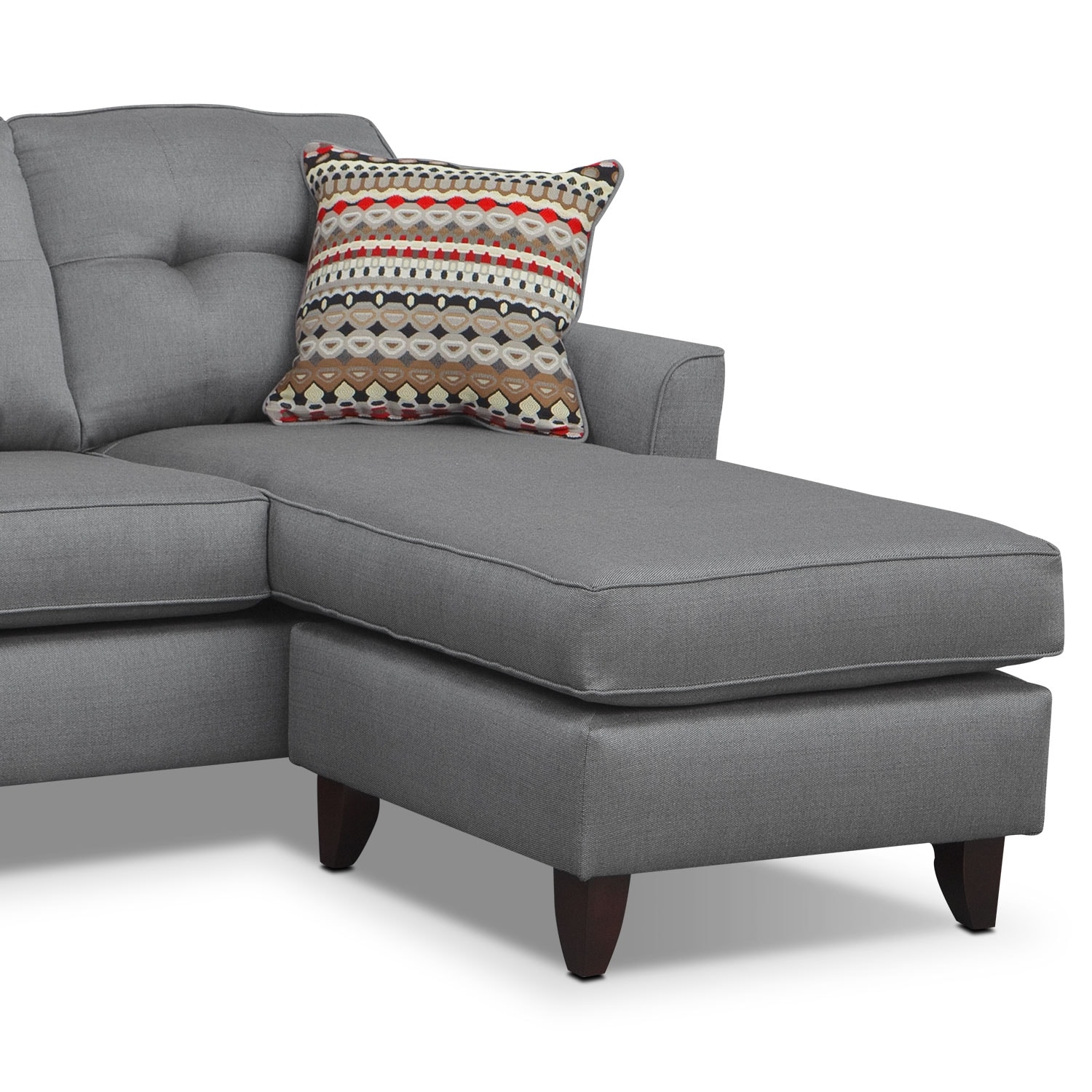 Marco Chaise Sofa Gray Value City Furniture
