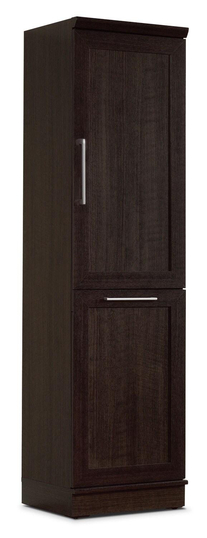 """Clinton 19"""" Storage Cabinet – Dakota Oak"""