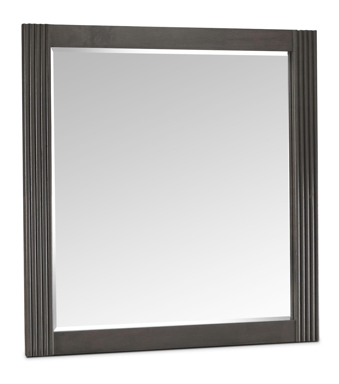 Bedroom Furniture - Amy Mirror - Grey