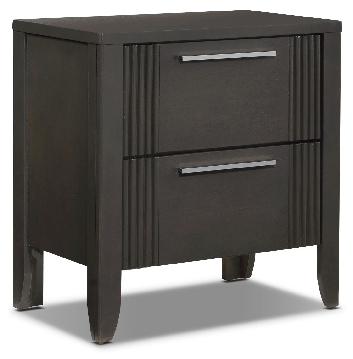 Bedroom Furniture - Amy Night Table - Grey