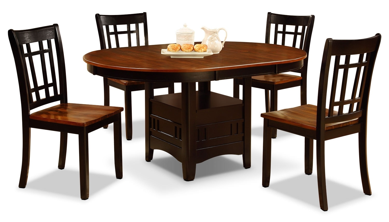 Dining Room Furniture - Dara 5-Piece Dining Package