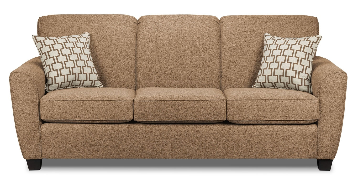 Living Room Furniture - Ashby Sofa - Sand