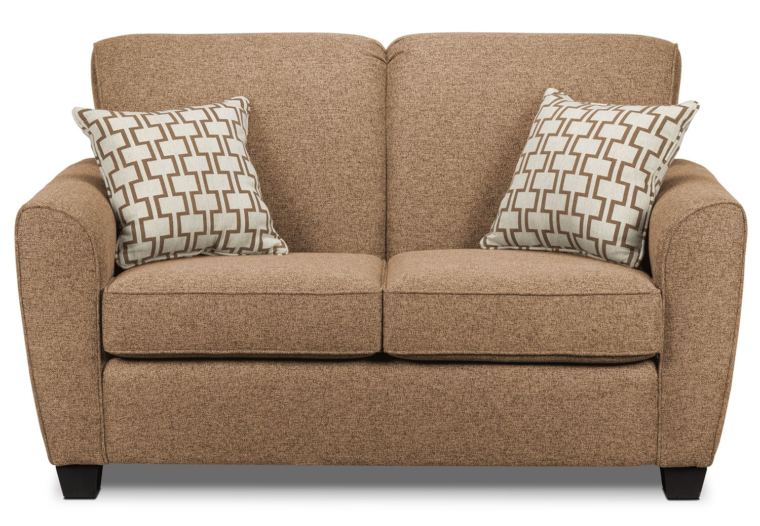 Living Room Furniture - Ashby Loveseat - Sand