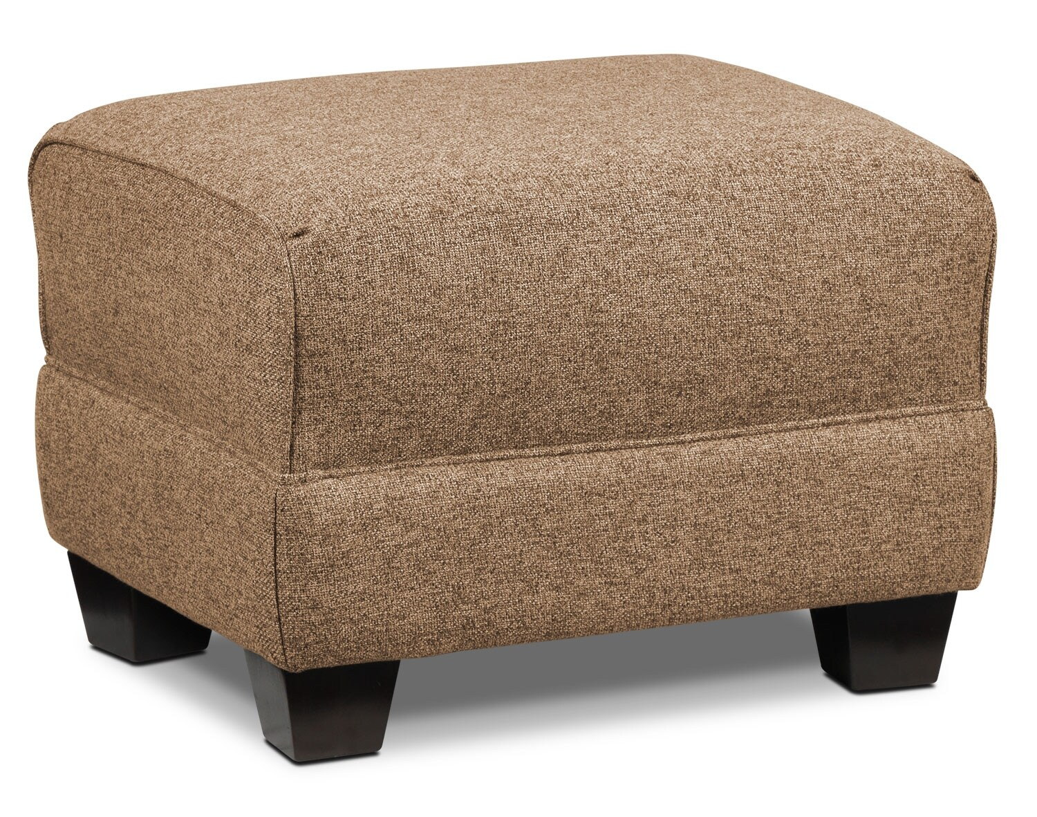 Living Room Furniture - Ashby Ottoman - Sand